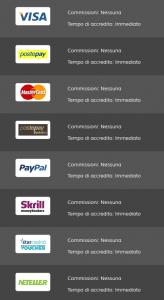 transazioni metodi pagamento riscuoti bonus vincite Star Casino