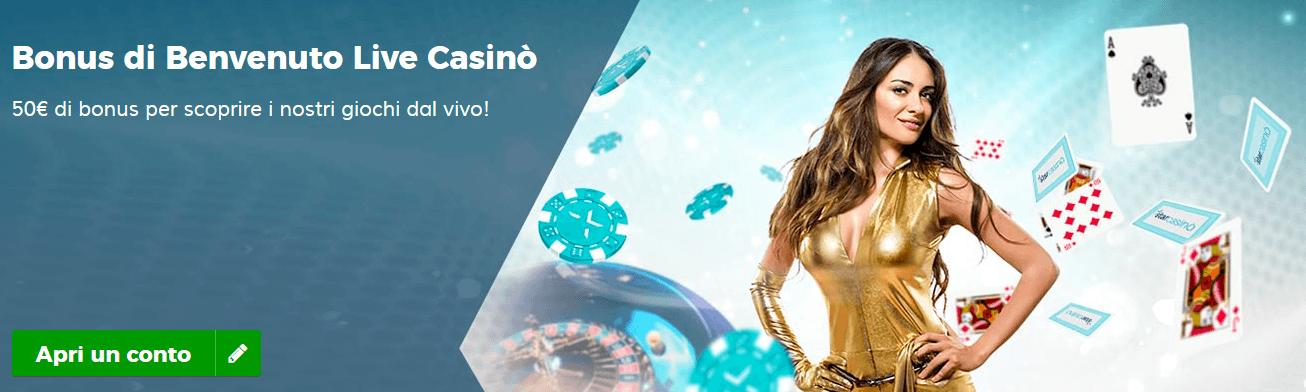 Codice promo star casino