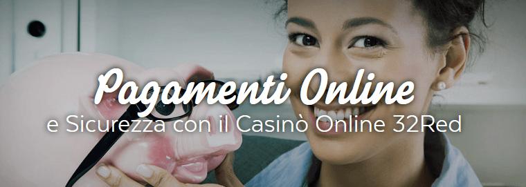 32Red-Casino-Bonus-pagamenti-online-sicurezza-paypal