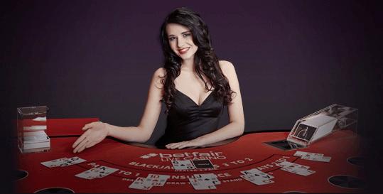 BetFair casino-Blackjack-Esclusivo-Vincita-Live