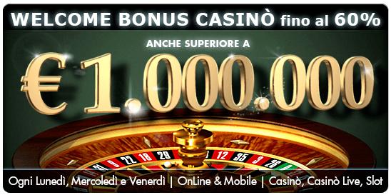 Betflag casino-Bonus-1milione-vincite-mobile-offerta-rimborso