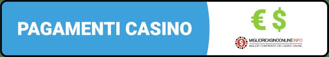 Pagamenti Casino