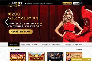 Unique casino-screenshot01