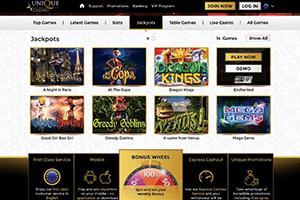 Unique casino-screenshot02