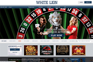 White Lion casino-screenshot01