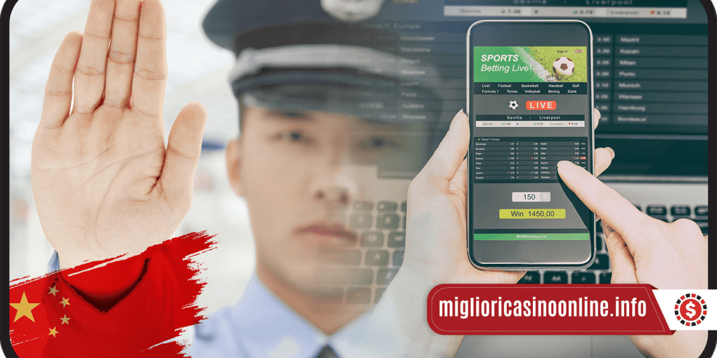 Chinese Police stops unlegal bettin app