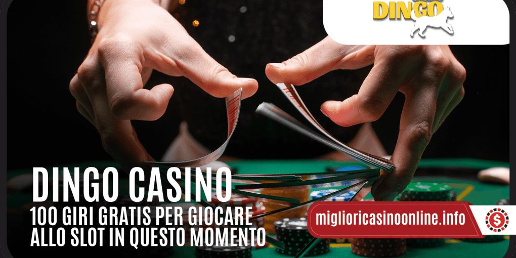 Il Benvenuto di Dingo Casino? Fino a € 4.000 e 200 Free Spin