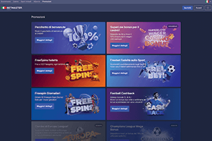 betmaster online casino screenshot interface