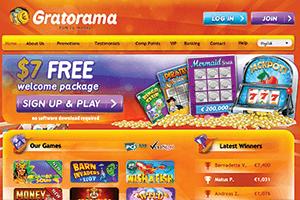 screenshot gratorama interface