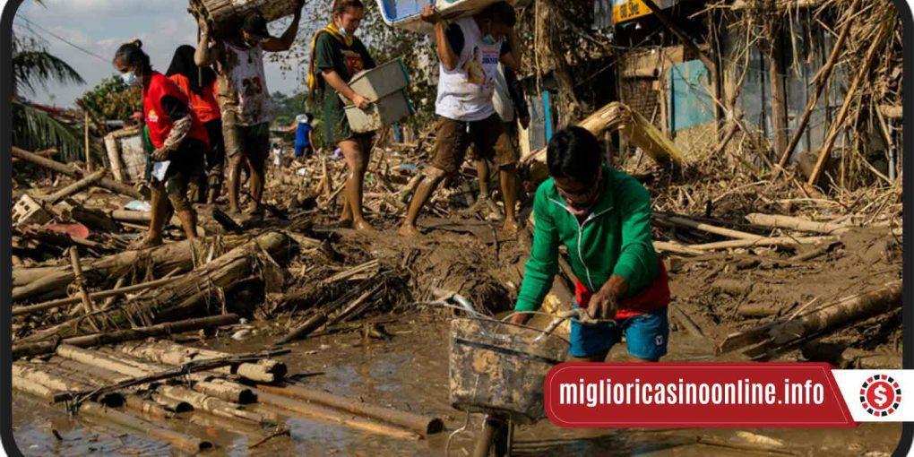 Filippine: il Gioco d'Azzardo salva vite riparando dai cataclismi
