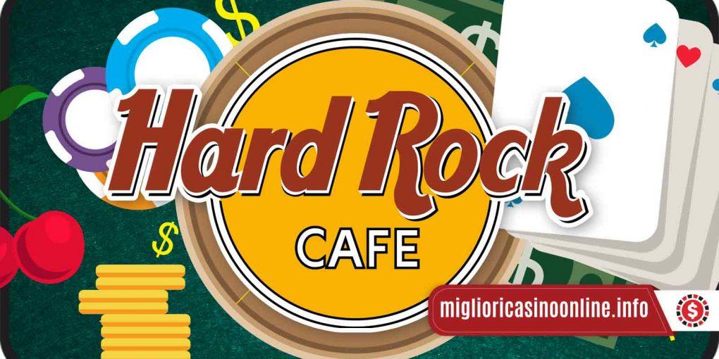 L'Hard Rock Café si dà al gioco d'azzardo? Sì, ed anche digitale