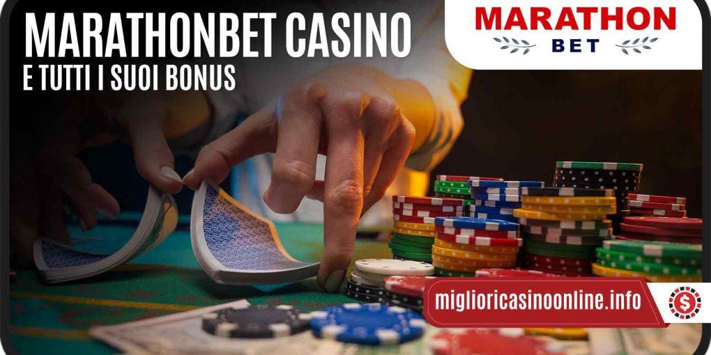 MarathonBet Casino? Un benvenuto che arriva da tutti i suoi Bonus