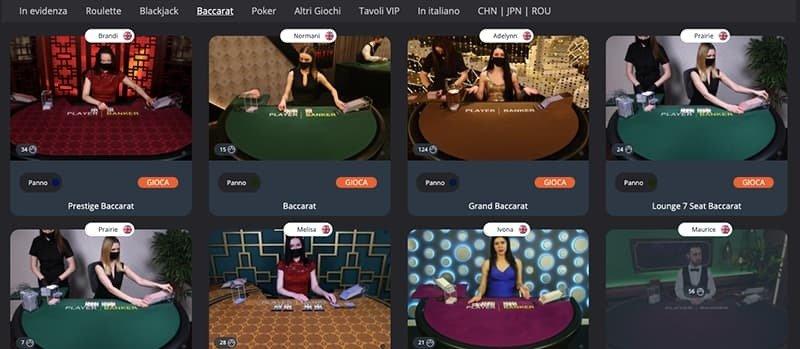 best in game live casino giochi website