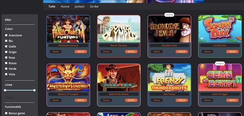 bestingame slots giochi screenshot