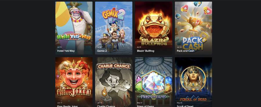 screenshot playngo games